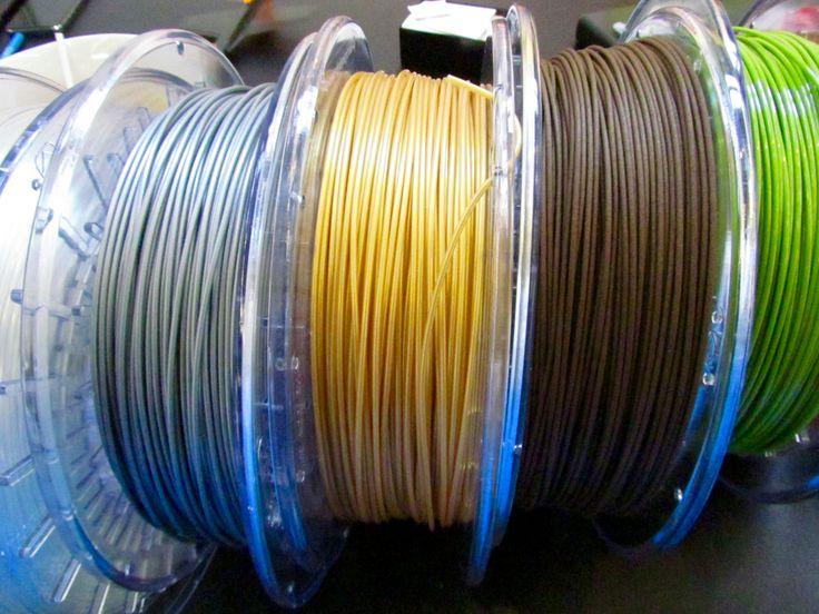 Filamentive's Sustainable 3D Printer Filaments