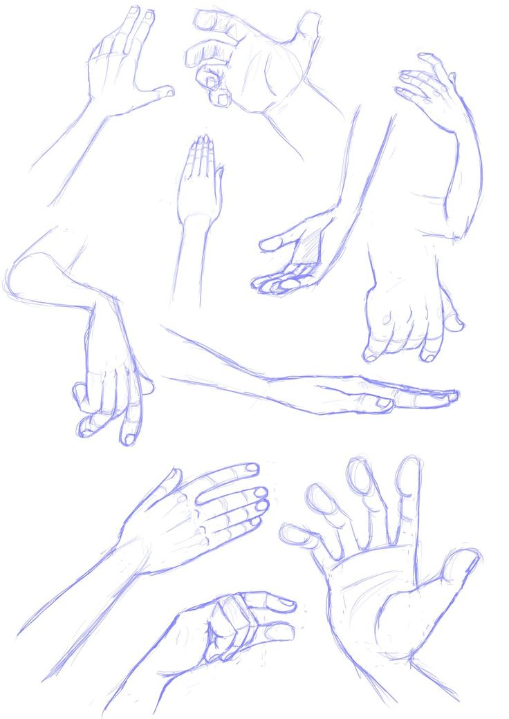 Hand sketches by *LuigiL on deviantART ✤ || CHARACTER DESIGN REFERENCES | Find more at https://www.facebook.com/CharacterDesignReferences if you're looking for: #line #art #character #design #model #sheet #illustration #expressions #best #concept #animation #drawing #archive #library #reference #anatomy #traditional #draw #development #artist #pose #settei #gestures #how #to #tutorial #conceptart #modelsheet #cartoon #hand