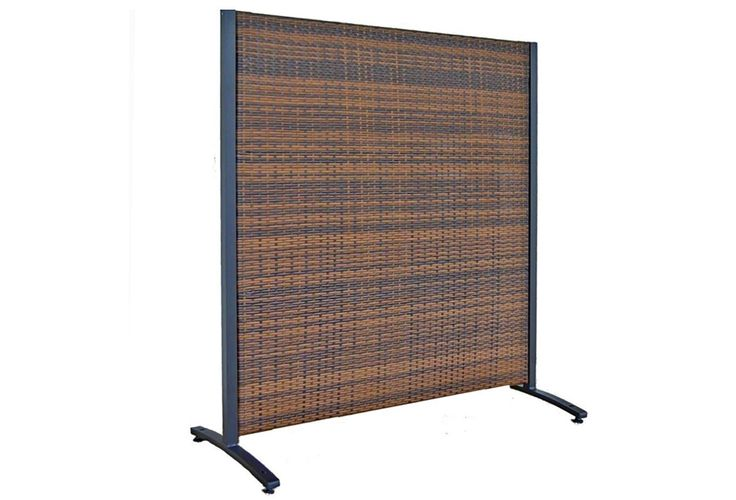30 best outdoor privacy screens images on pinterest for Temporary outdoor privacy walls