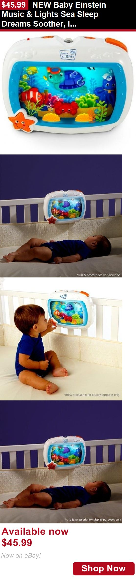Crib Toys: New Baby Einstein Music And Lights Sea Sleep Dreams Soother, Infant Crib Toy BUY IT NOW ONLY: $45.99