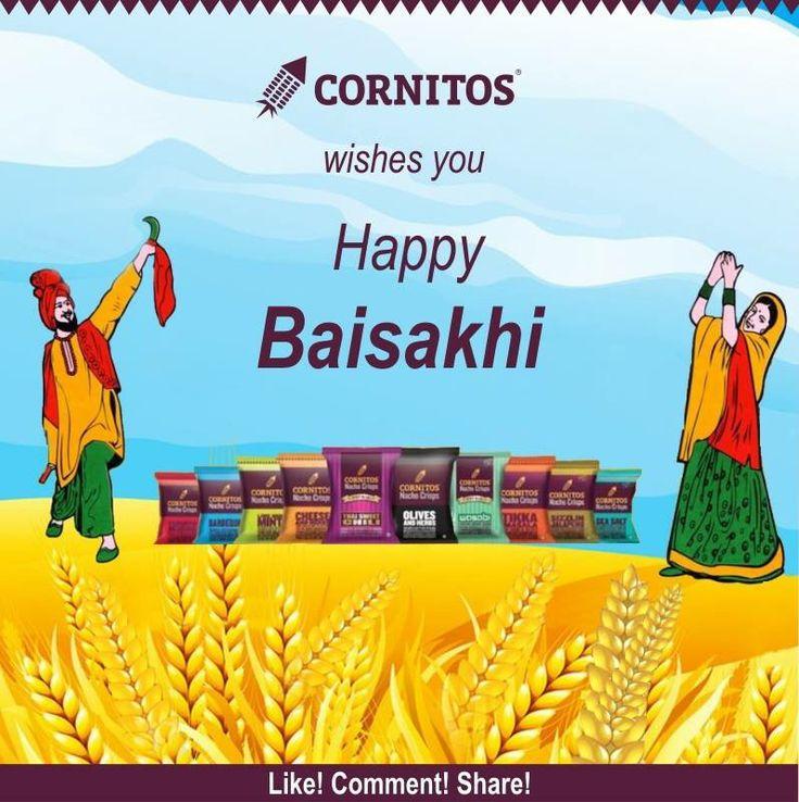 Cornitos wishes you all  Happy Baisakhi !!  Tell us why #Baisakhi is celebrated?