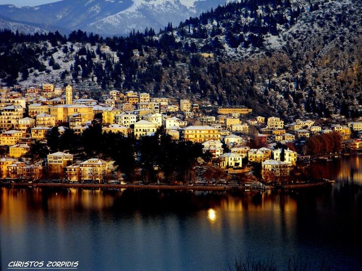 KASTORIA City with its LAKE, Macedonia Greece