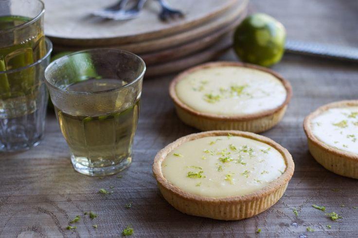 Recette Thermomix de tarte au citron vert et basilic