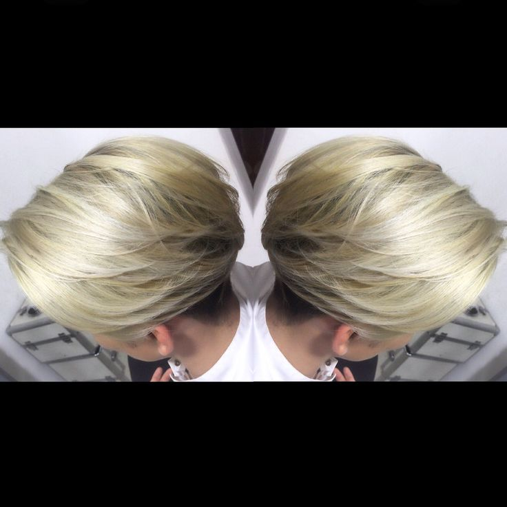Balayage color's beige
