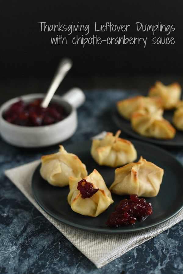 Thanksgiving Leftover Dumplings - Reinvent your leftover turkey, stuffing and…