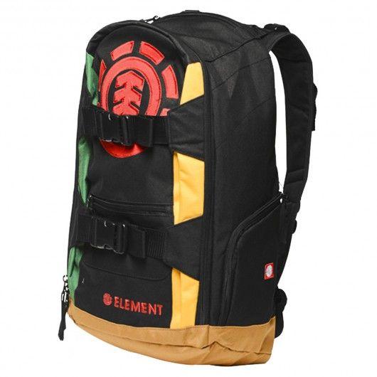 element sac dos mohave 2 0 rasta backpack technique de skate 59 sac backpack bag skatebag. Black Bedroom Furniture Sets. Home Design Ideas
