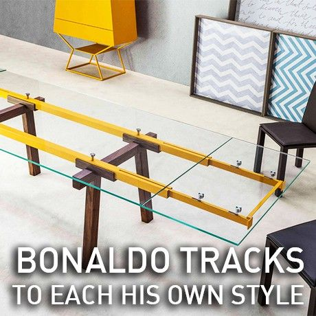 Adjustable and customizable #table by @bonaldo