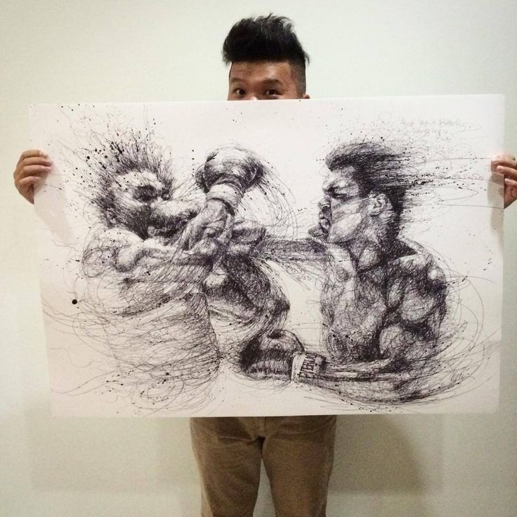152 Best Images About [ Art Manipulation ] Scribbling On