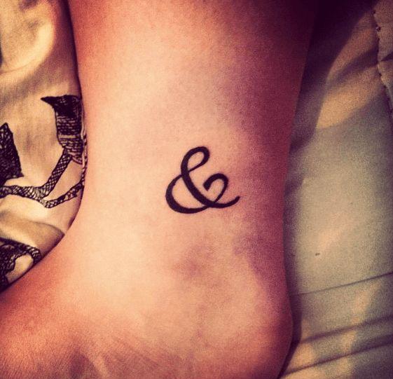 Tattoo Ideas Keep Going: Best 25+ Ampersand Tattoo Ideas On Pinterest
