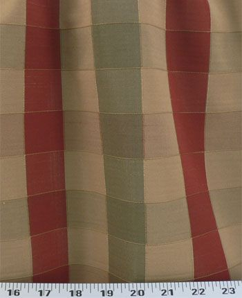 Turney Plaid Rust | Online Discount Drapery Fabrics and Upholstery Fabric Superstore!