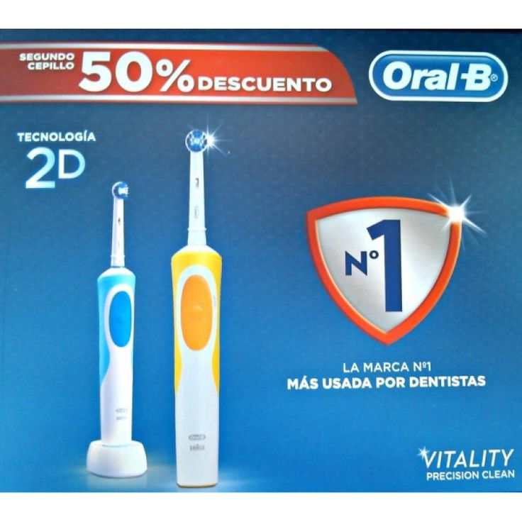 Oral B Cepillo Electrico Vitality Precision Clean Pack 2ud