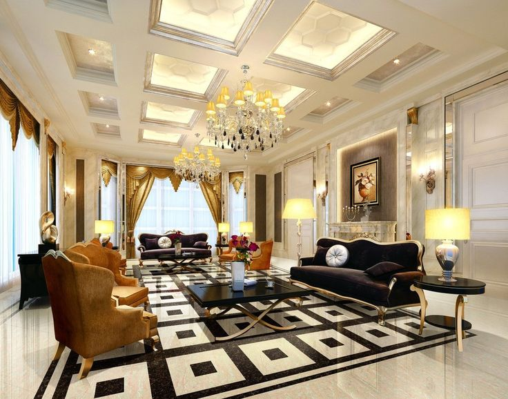 Fascinating European Living Room Ceiling Design | A. | Pinterest | Living  Rooms, Coffer And Ceilings Part 53