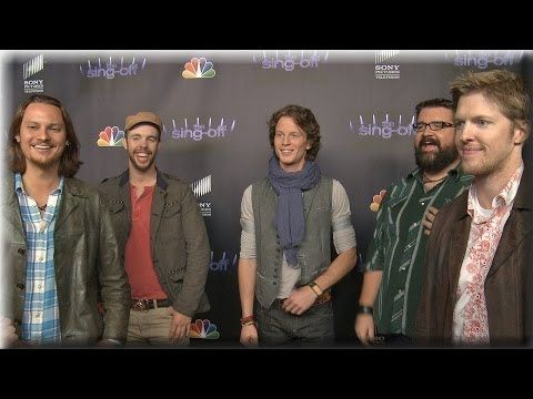 """World's first country vocal band, Home Free, sing their original """"I've Seen,"""" written by Tim Foust, for us during our interview. Gotta love these guys! Check them out on Sing-off"""