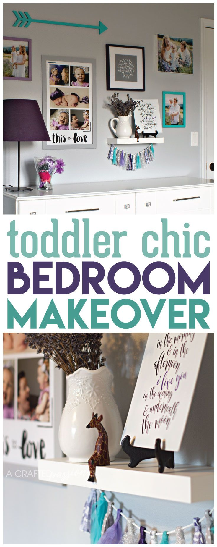 a toddler chic bedroom makeover filled with many diy decor ideas in a montessori inspired - Childs Bedroom Ideas