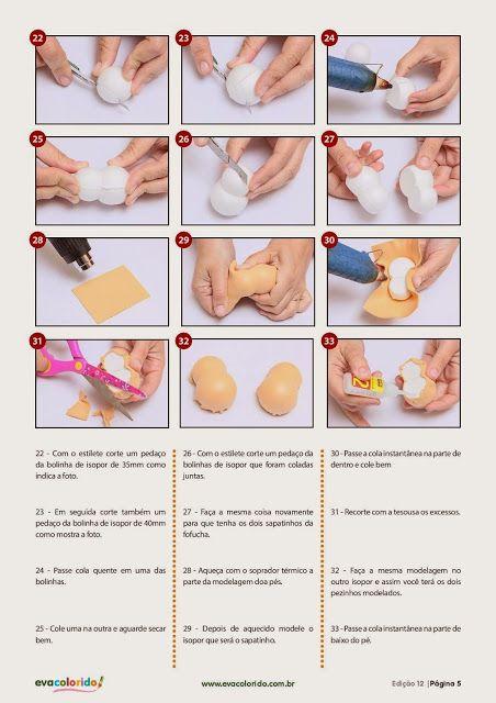 Cursos y tutoriales para manualidades: como hacer fofuchas paso a paso 5