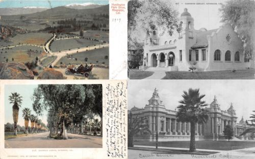 Lot-of-8-Early-Vintage-Riverside-California-Early-1900s-Postcards-41085
