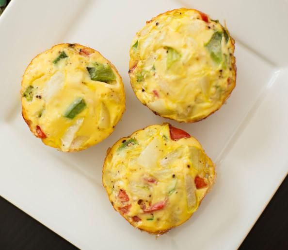 Muffin Tin Omelets - Five On-the-Go Breakfasts That Are Actually Good for You - Men's Fitness
