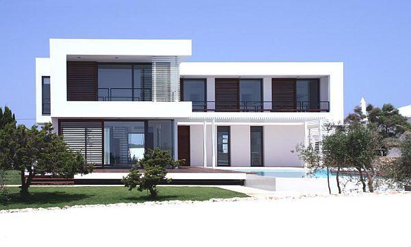 Private contemporary villa in spain villas and spain for Grundriss villa modern