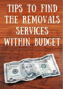 Tips To Find The #Removals #Services Within #Budget in Melbourne city.