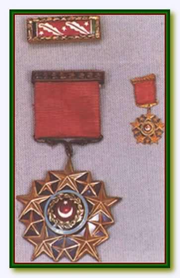 Türk Silahlı Kuvvetleri Şeref Madalyası / Turkish Armed Forces Medal of Honor