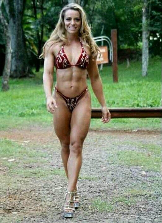 Bodybuilding at the right medium. #Beast www.natashamcbride.com