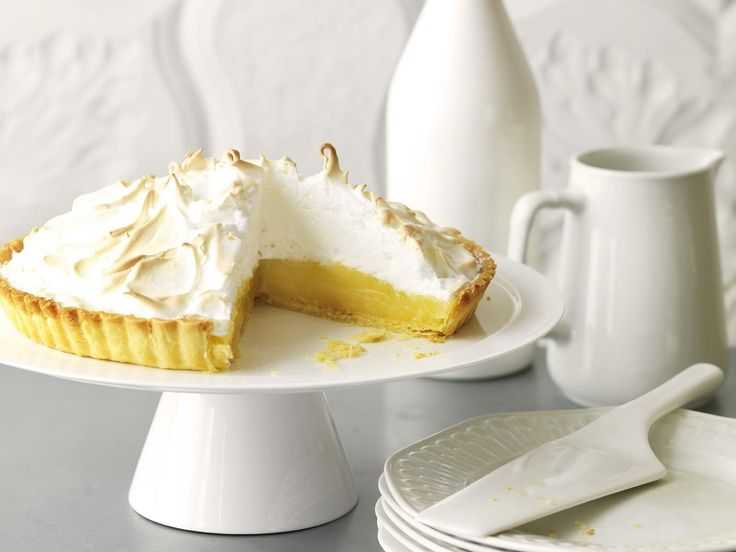 Lemon meringue pie is an old family favourite that beautifully contrasts the tartness of the lemons with the sweetness of the meringue.