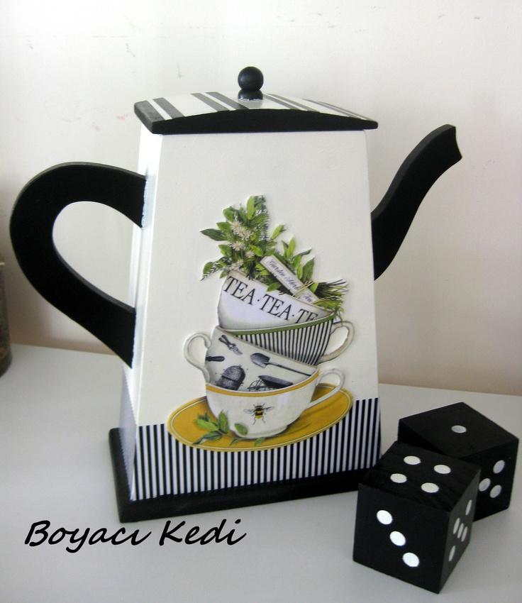 Kim istemez çayını böyle bir kutuda saklamayı...