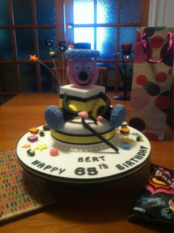 Berty Bassett birthday cake