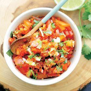 Recept - Paprika-tomatensalsa - Allerhande
