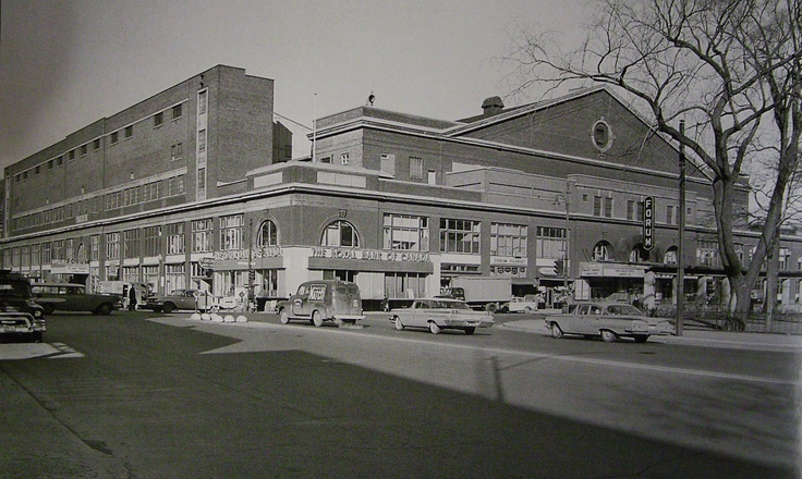 Montreal, 1950 - The Montreal Forum; home of the Canadiens.