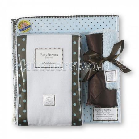 SwaddleDesigns для новорожденного Gift Set  — 5590р. -----------  Подарочный набор для новорожденного Gift Set в красивой фирменной коробке SwaddleDesigns, состоит:  1. Пеленка премиум фланель серии Ultimate Receiving Blanket SwaddleDesigns. Пеленка выполнена из очень мягкой натуральной ткани – хлопковой фланели, завоевавшей доверие родителей во всем мире. Большой размер пеленки 110x110 см. идеально подходит для пеленания до 3-х месяцев и новорожденных с весом более 4 кг. Легко пеленать…