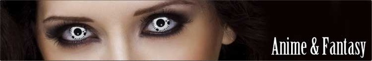 Halloween, Special Effect, FX, Theatrical & Novelty Contact Lenses