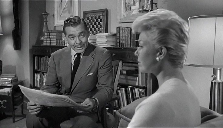 Teacher's Pet (1958) , Clark Gable,  Doris Day