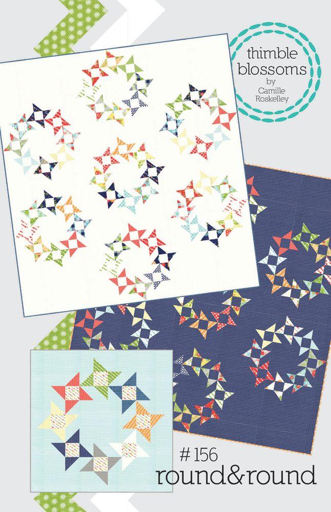 Thimble Blossoms — round&round pattern