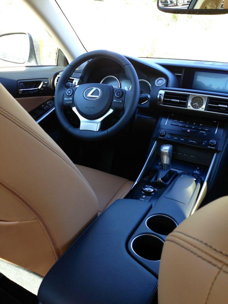 Interior of 2014 Lexus IS 250
