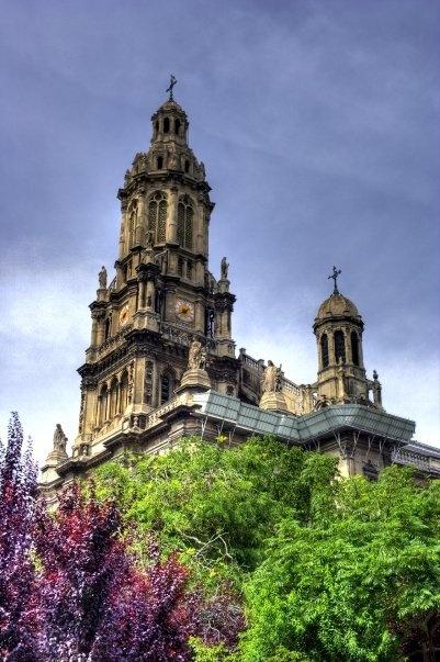 Trinity church - Paris
