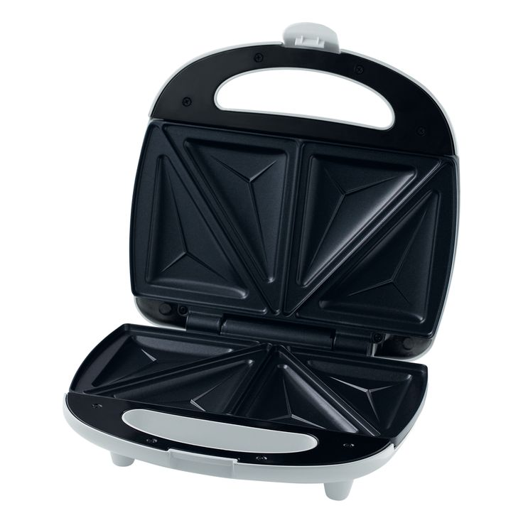 Sandwich Maker SSM 3100 - Prepares 4 triangular sandwiches - Automatic temperature control - Easy to clean baking surfaces