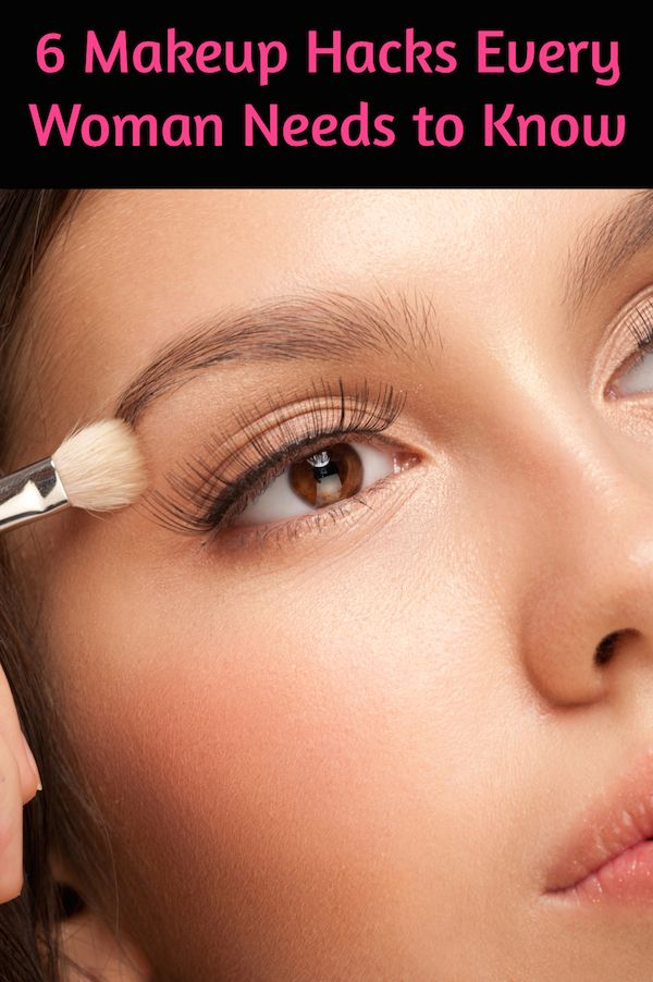 6 Makeup Hacks Every Woman Needs to Know: http://blog.amaraorganics.com/6-makeup-hacks-every-woman-needs-to-know