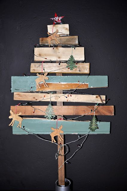 35 ideas on how to create your own Christmas Tree #DIY