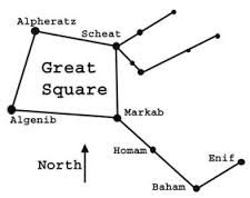 Image result for pegasus constellation