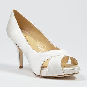 kate spade billie ivory  Wedding Shoes