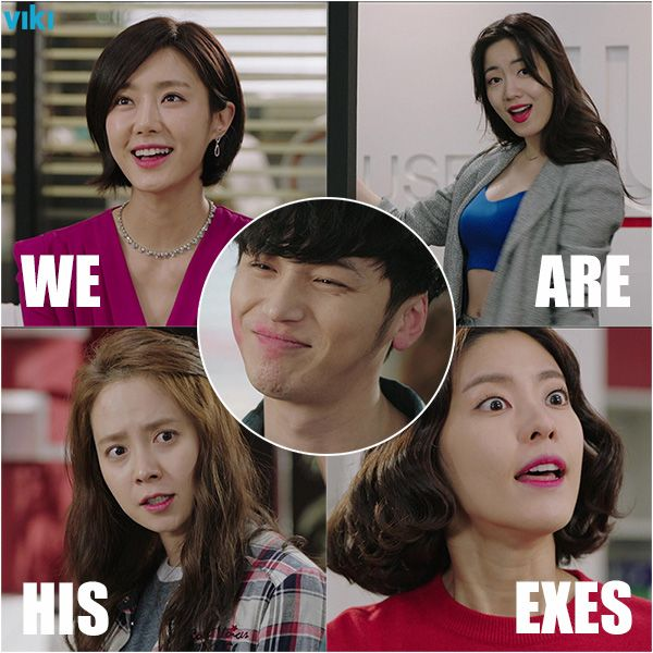 What happens when all four of his ex-girlfriends get together in the same place? Get ready for a wild ride in Viki Exclusive 'Ex-Girlfriend Club'!