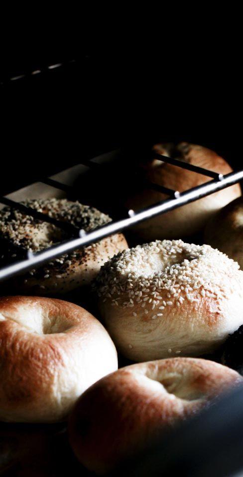 Homemade bagels NY style