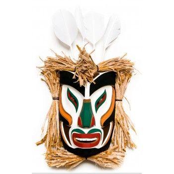 Ground Preparer Mask by Rupert Scow Jr. (Kwakwaka'wakh).