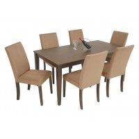FOCUS | 7 Piece | Dining | Furniture  colour is iffy