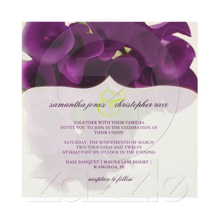 109 best Wedding Invitations images on Pinterest | Bridal ...