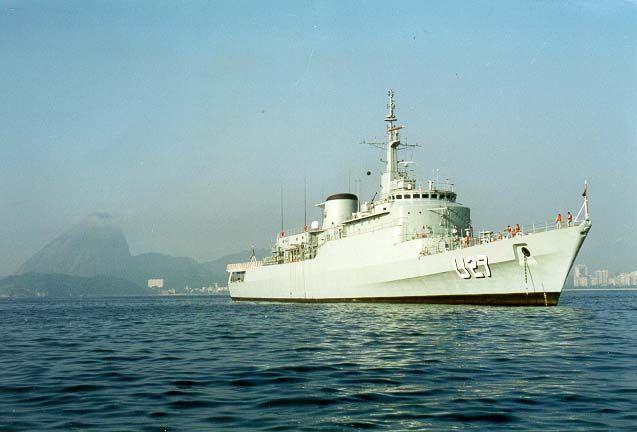 NE Brasil (U-27) - Naval ship of Brazil - Navio Escola da Marinha do Brasil.