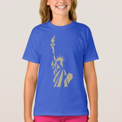#Statue of Liberty - New Colossus Patriotic Poem T-Shirt - cyo customize design idea do it yourself diy