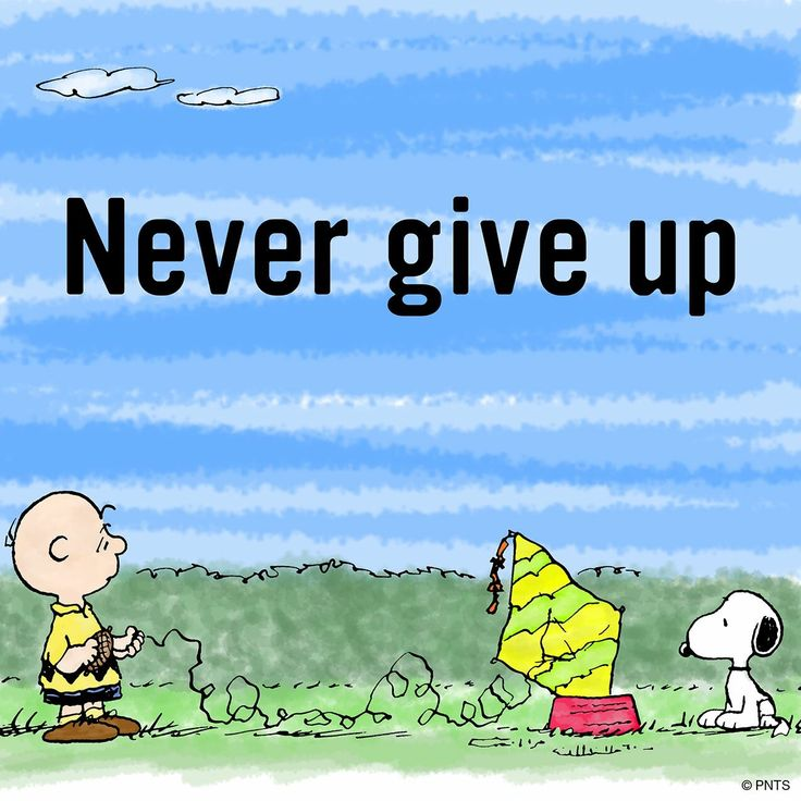 Even when you are tired #snoopy #nevergiveup #peanuts