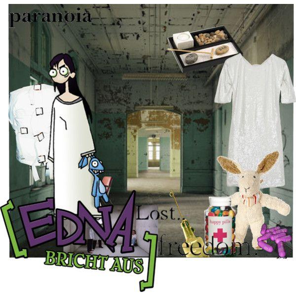 """Edna bricht aus (Edna breaks out)"" by saleno on Polyvore"